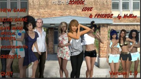 School, Love & Friends - Version 1.9 Game Download