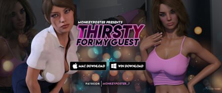 Thirsty For My Guest - Episode 8 + Stay Hard Special Game