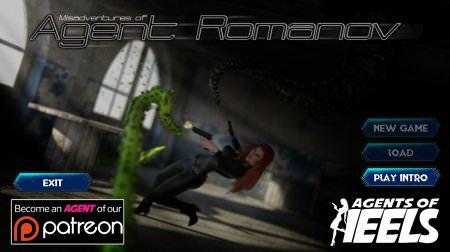 Agent of Heels Misadventures Of Agent Romanov 0.14 Game