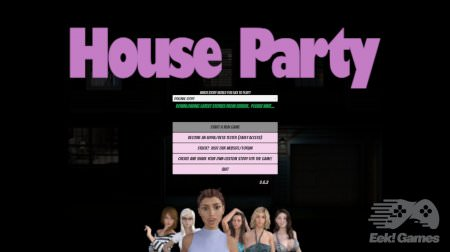 House Party 0.16.2 Game Walkthrough Download for PC & Android