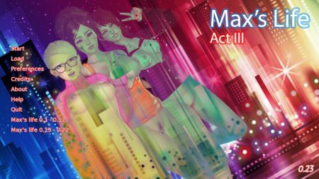 Max's life Act 3 Version 0.31 Game Download for PC & Android