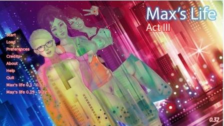 Max's Life [Ch. 3 v0.32] Download Walkthrough